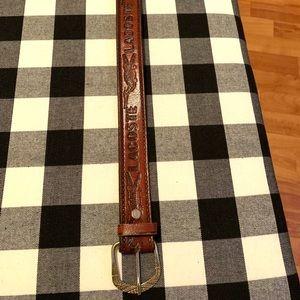 Vintage Lacoste belt